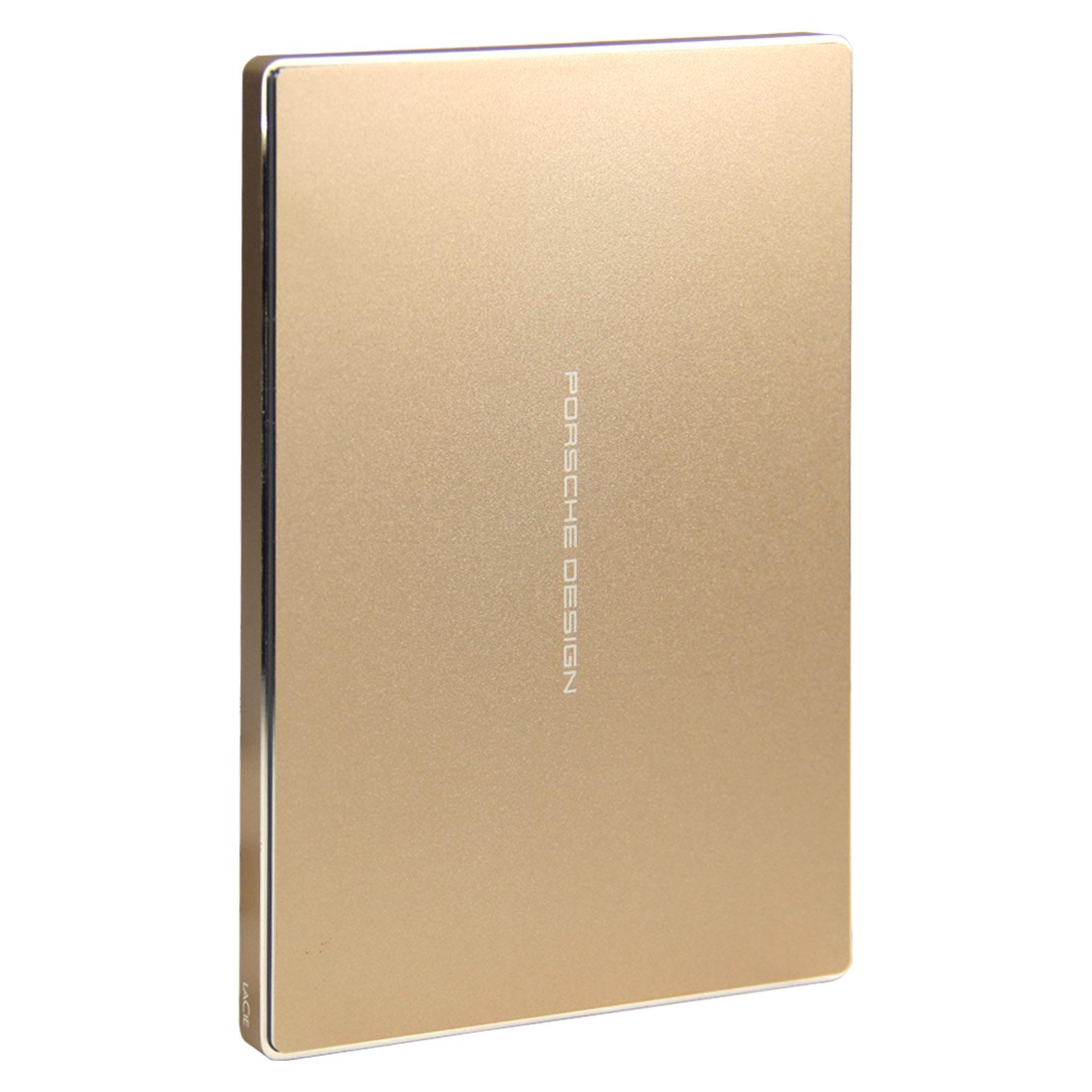Les LaCieP92272TUSB-C2.5 Zoll festplatte nabob Gold Edition - Paket post