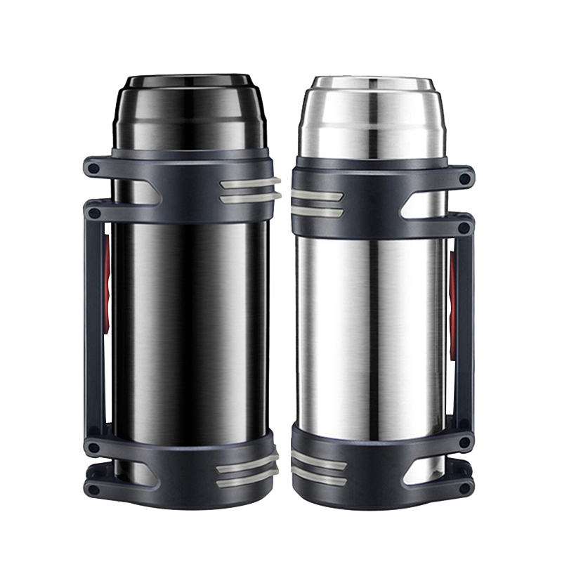 Super large capacity thermos cup, 2500ml portable stainless steel cup, vacuum cup, tourist cup and kettle