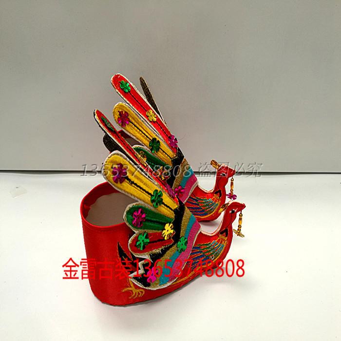 鳳凰鞋神像 佛像用品 菩薩觀音鞋 繡花鞋緞面鞋子 媽祖泰山奶奶繡花鞋