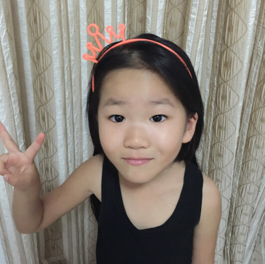Amoy Korean girls hair Xuan children hair headdress real color crown with tooth head band show
