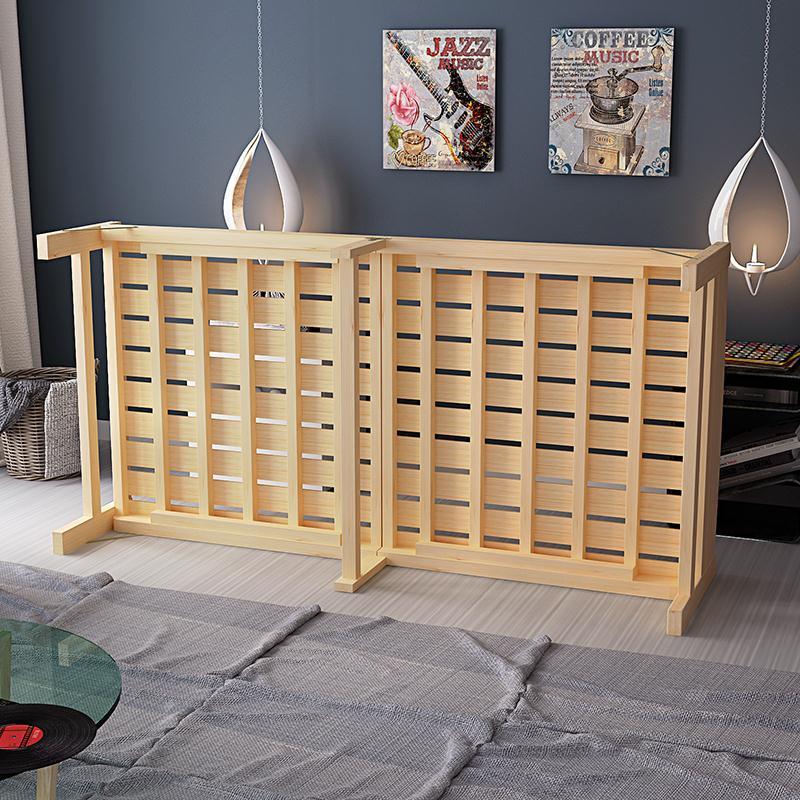 全木折りたたみベッド木造ベッド板ベッド涼板床シングルペア童床昼休みベッド80cm / 1 m / 1 . 2 m