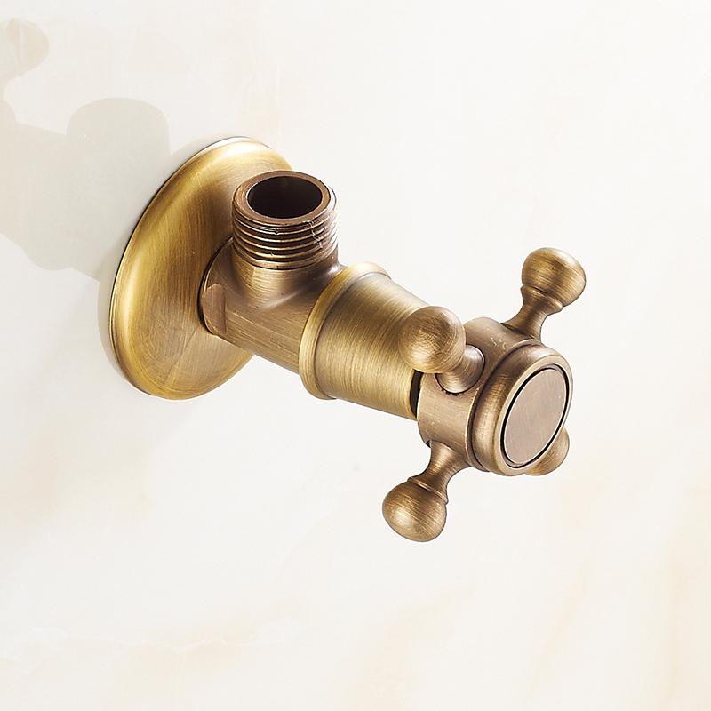 почта пакет Европейский треугольник клапан полностью медь медь утолщение угловой клапан запорный клапан впускной клапан клапан клапан смеситель