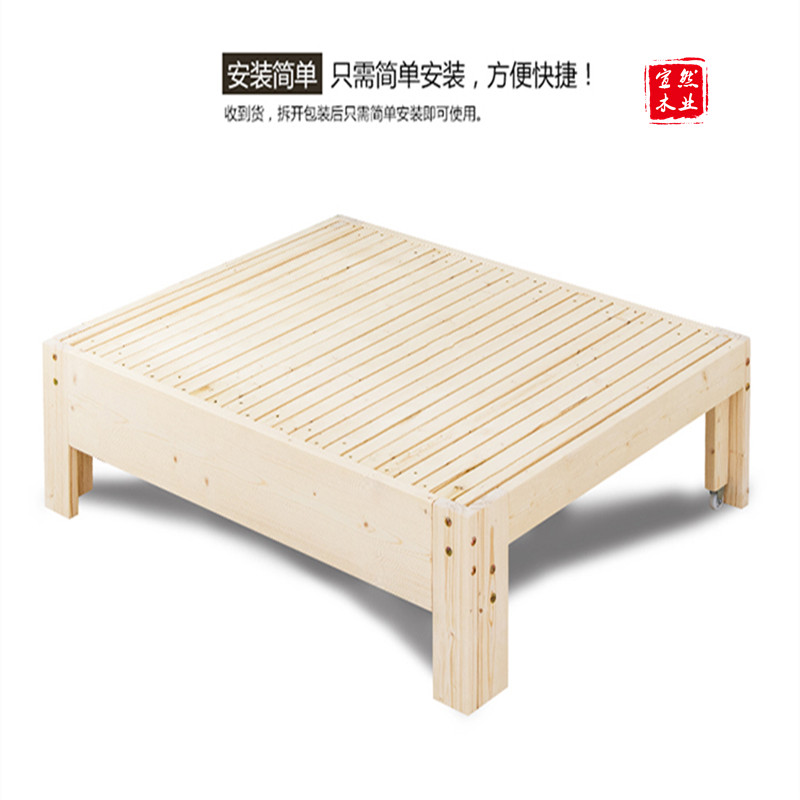 Special offer multifunctional solid wood sofa bed push and pull the tatami draw telescopic tatami room became the balcony