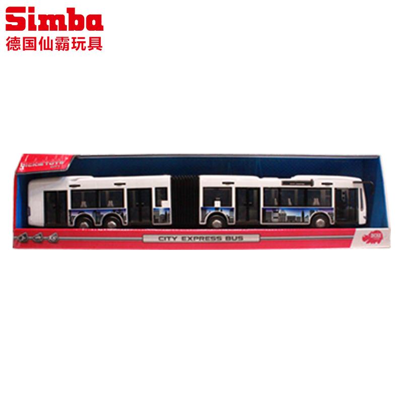 Па статических моделей автомобилей модели Дики центов детей в возрасте трех новых автобусов автобус моделирования игрушечная машина двойной автомобилей