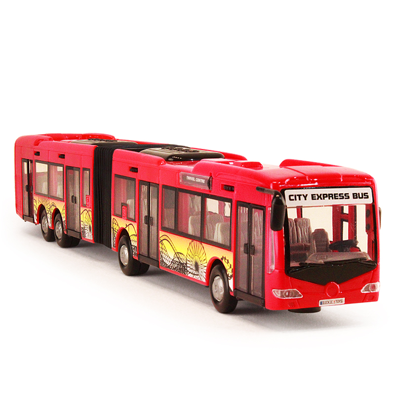 Xian PA static model 3 models Mladic children's toy car new double bus car simulation