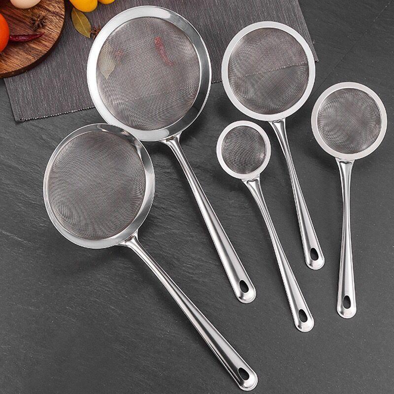 厨房不锈钢漏勺小号一个