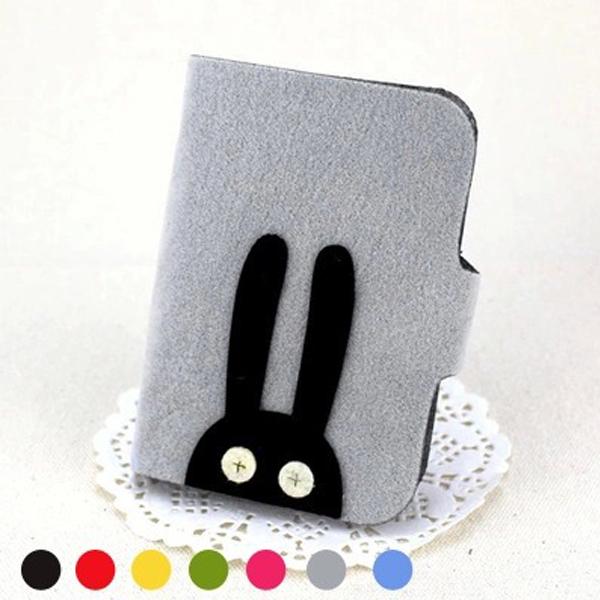 韩国多卡位大容量可爱超薄卡包女公交银行卡套卡片包创意布艺女式