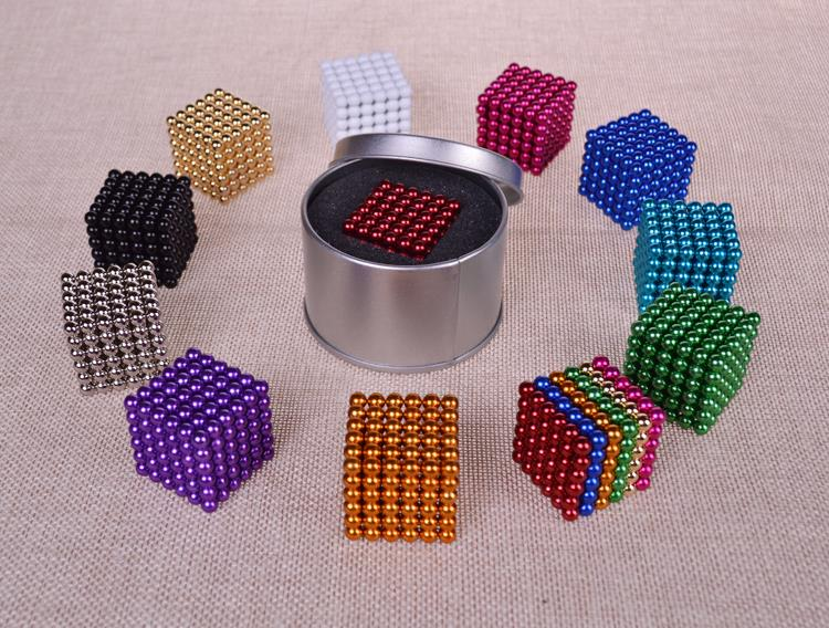 A magnetic ball magic ball 5mm216 buck buckyballs children adult toy puzzle casual boys shipping