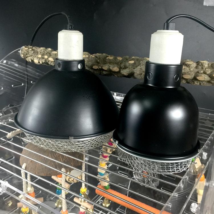 Papagei wärmedämmung Lampe heizung und Licht temperaturregelung ausrüstung vogelkäfig - vögel zucht Waren heizung im Winter, wärmedämmung)