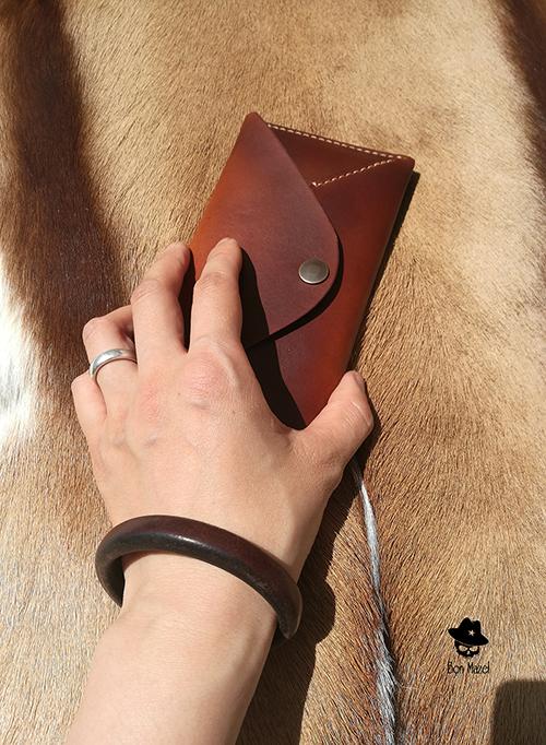 駁馬工坊 極簡設計 紅包款式 中長錢夾/錢包 手機包/錢卡包