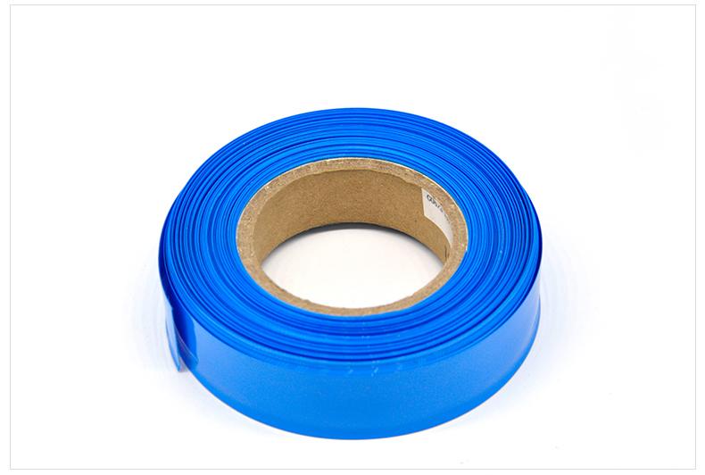 El tubo de PVC de 85 mm de ancho de color azul el grupo paralelo de promoción de 18650 sección 18650 paquete conjunto de baterías