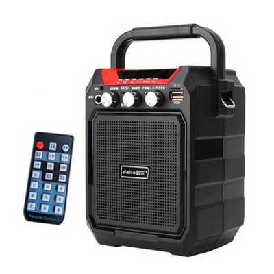 戴乐S15广场舞音箱带蓝牙便携迷你手提音响促销用音箱超长播放