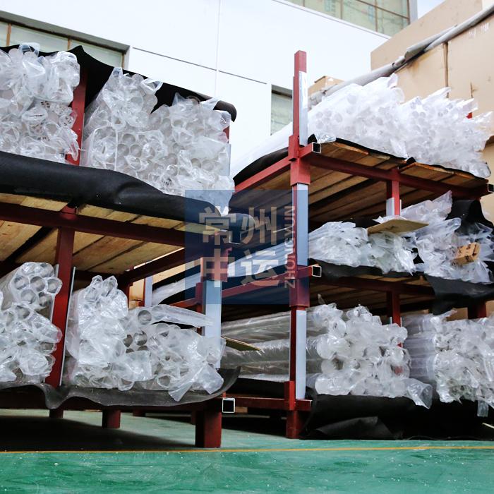 ขายแท่งแก้วแท่งอะคริลิก PMMA ใสรอบคันจากโรงงานโดยตรงราคาถูกผลิตเองมม.