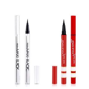 泰国彩妆mistine红银管眼线液笔极细速干持久防水不晕染不掉色