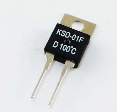 Normally closed D100|KSD-01FD100 temperature control switch can automatically disconnect the imported chip at 100 degrees