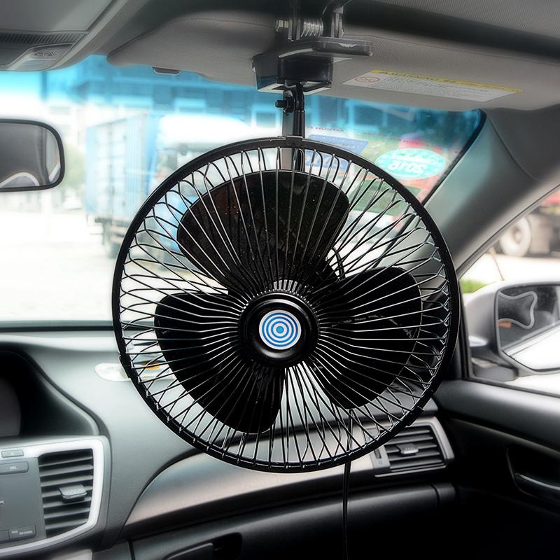 бортовой автомобиль с 12V24 вентилятор на новый минивэн V микроавтобусов мощный электрический вентилятор охлаждения автомобилей большой ветер