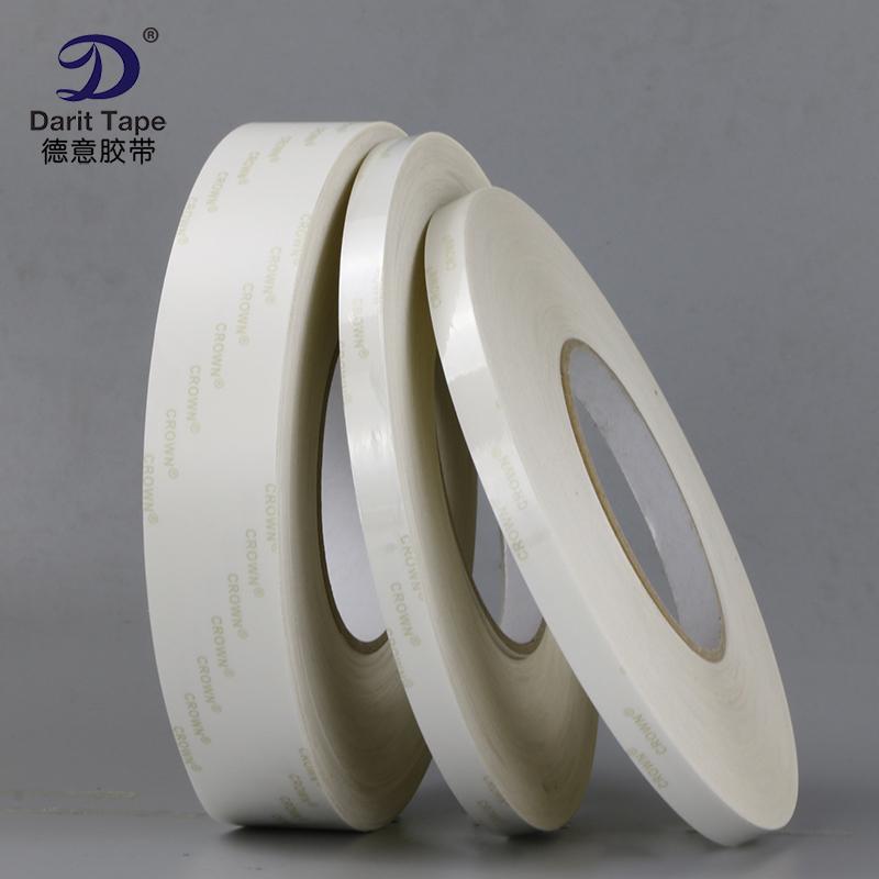 Mạnh mẽ transparent Pet mặt băng mặt cách loại giấy không hề có dấu vết có thể xé hai chiều dài di chuyển liên tục 50M keo