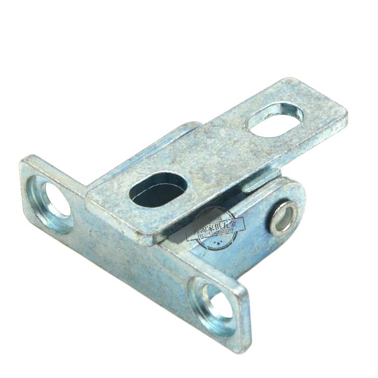 Aprender la conexión desde el punto de vista de escritorio de trabajo de escritorio de doble bisagra bisagra bisagra de ajuste ajuste de aleación de zinc.