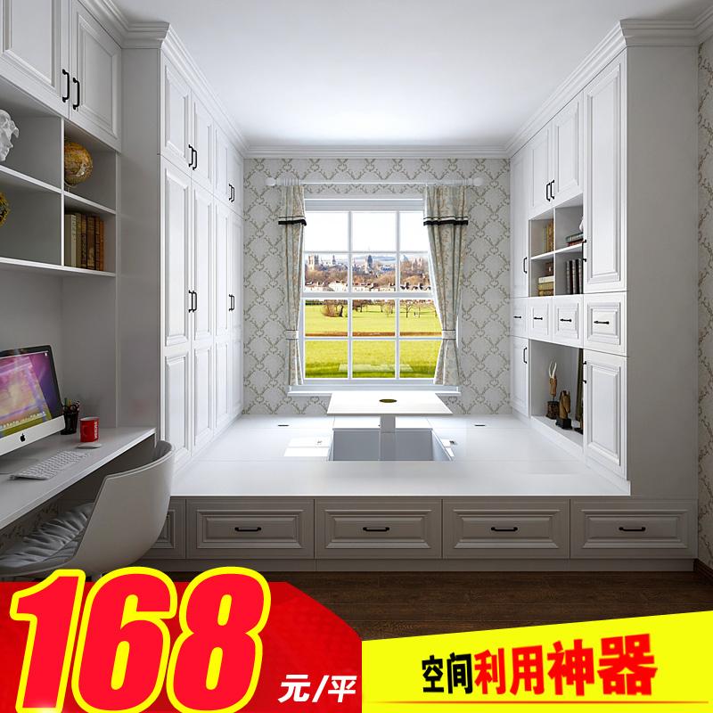 Tatami custom bedroom children room furniture custom house whole wood tatami bed combined modern minimalist