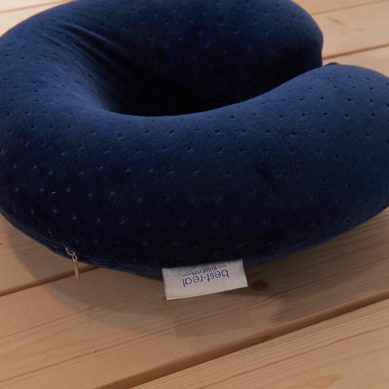 オフィス昼寝ざぶとん首首u型枕枕護可愛い低反発記憶枕枕枕首U U枕