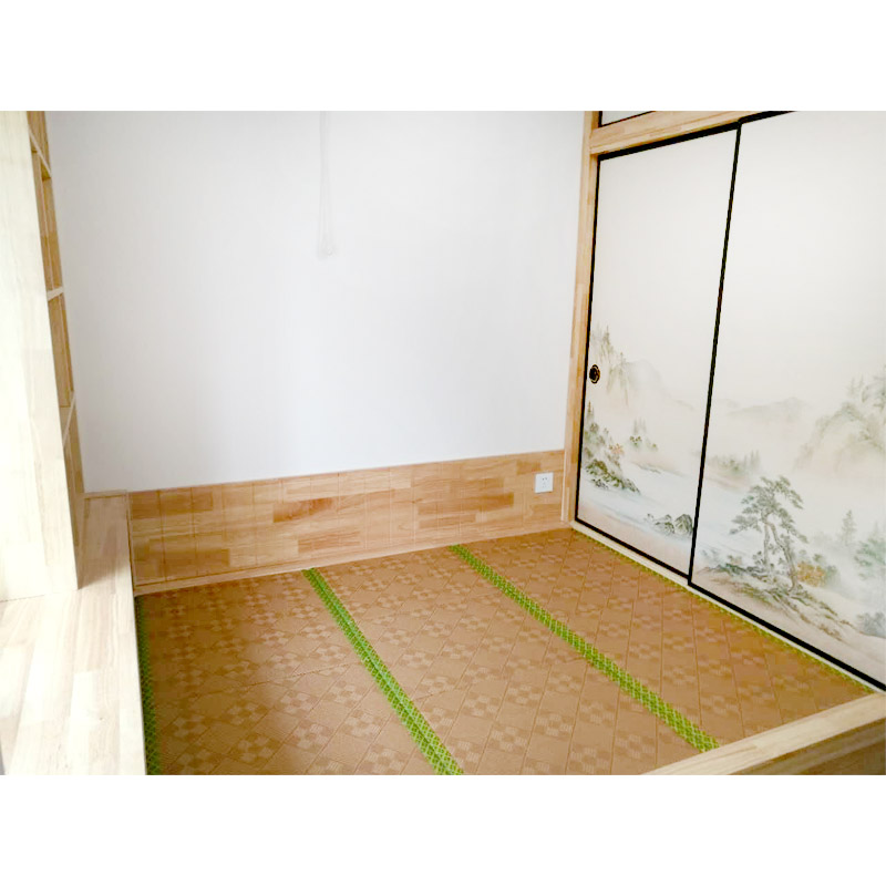 Beijing multifunctional Japanese tatami bed study to customize the overall whole house environmental protection wood custom installation platform