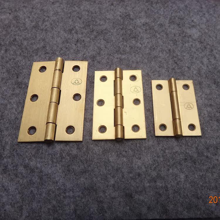 Copper hinge cabinet door hinge thickening furniture wardrobe hardware accessories Mini hinge door hinge