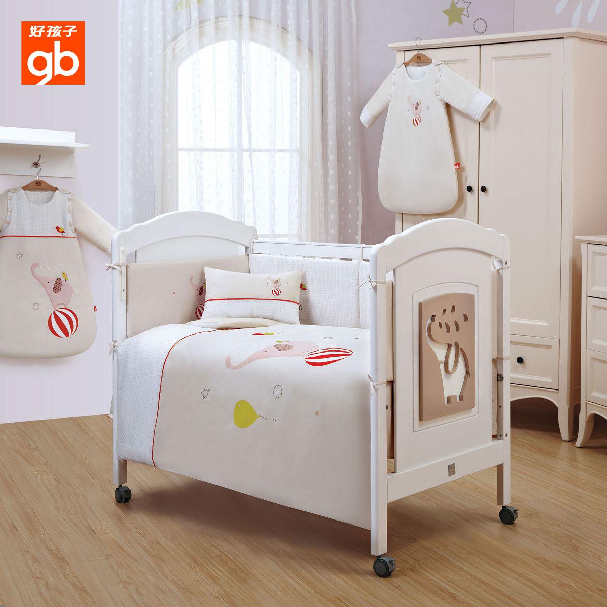 規格品のいい子goodbaby赤ちゃん寝具寝具綿活性プリントFZ720九点セット