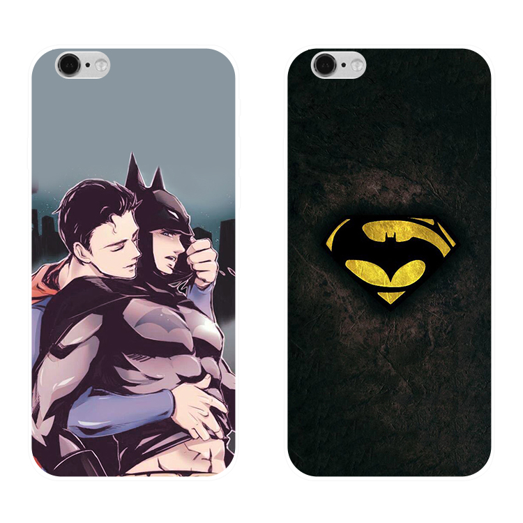 M5/m5plus/m6/m6plus/s8/s9 anime Batman mobile phone shell Gionee S10 transparent silicone cover
