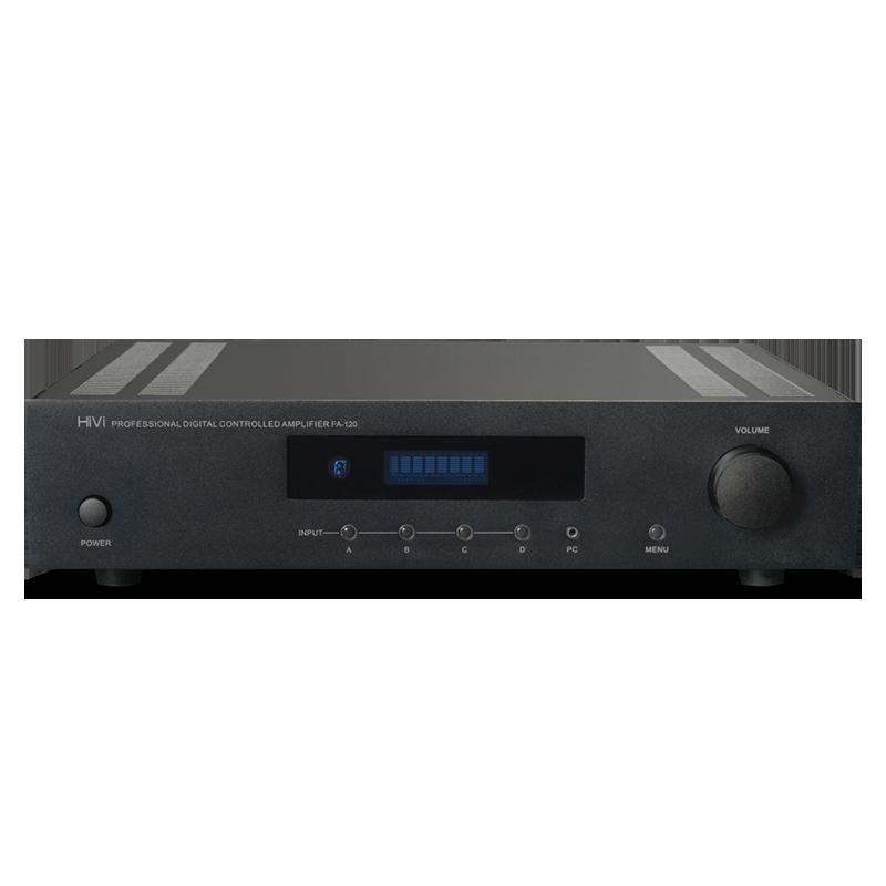 Hivi/ Hivi FA-120 HIFI dual channel high fidelity fixed resistance background music conference speaker amplifier machine 2