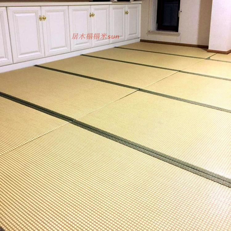 Health and environmental protection platform customized Japanese tatami mattress coir mat jute tatami rattan seats