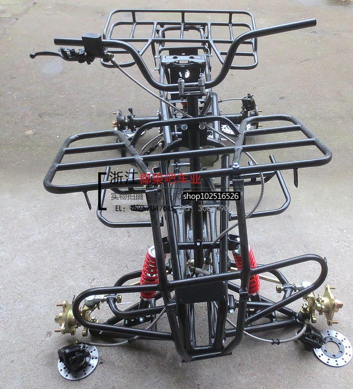 DIY cuatro ruedas Buggy parts 150 - 250 toros grandes de un marco ...