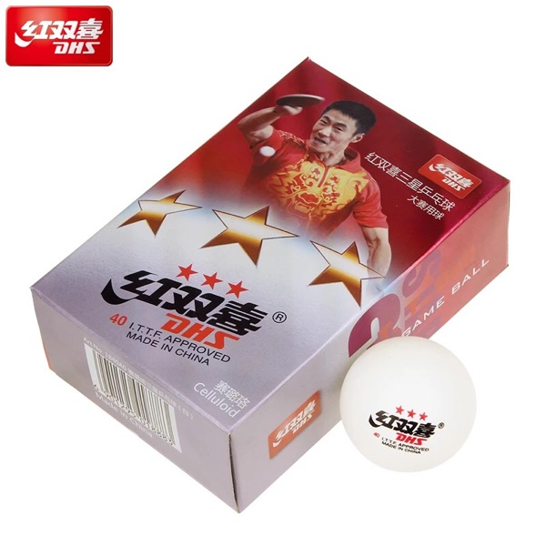 Red white yellow table tennis table tennis training game Samsung 6 pack 40MM
