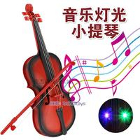 Children's princesses, violins, toys, violins, lights, music, electric instruments, toys, girls, toys, mail