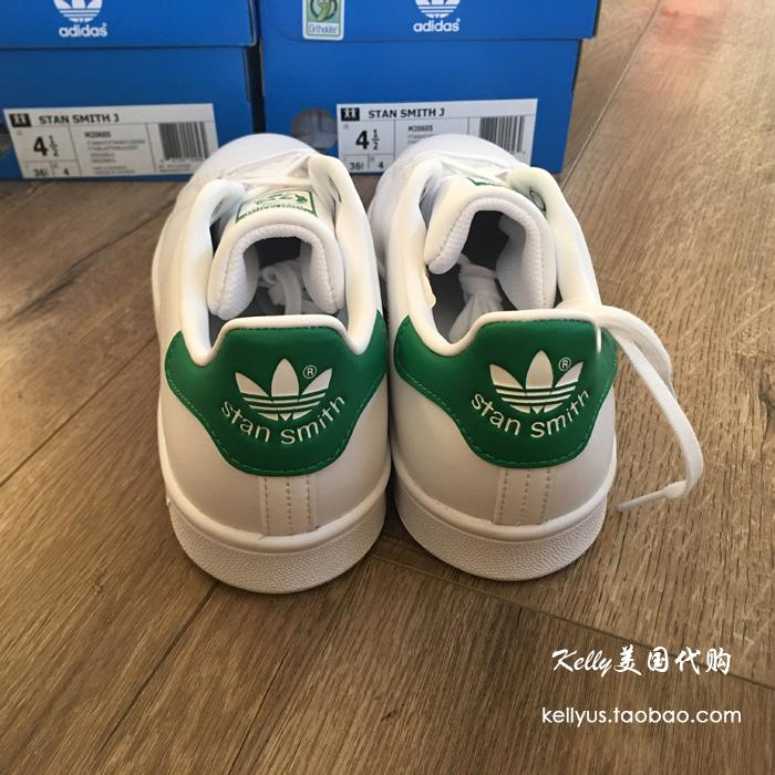 Adidas USA Adidas shoes stansmith Smith green green tail tail white shoes