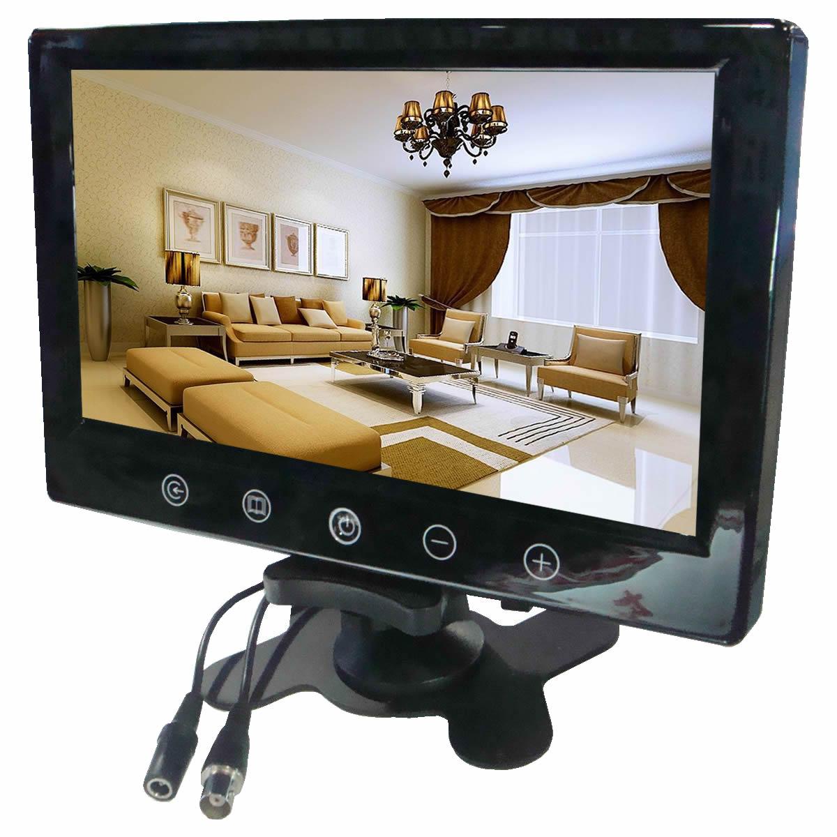 رصد سيارة 9 بوصة رصد عرض شاشات الكريستال السائل شاشة ملاحة أنثى الهاتف سطح المكتب في المنزل لمسة زر