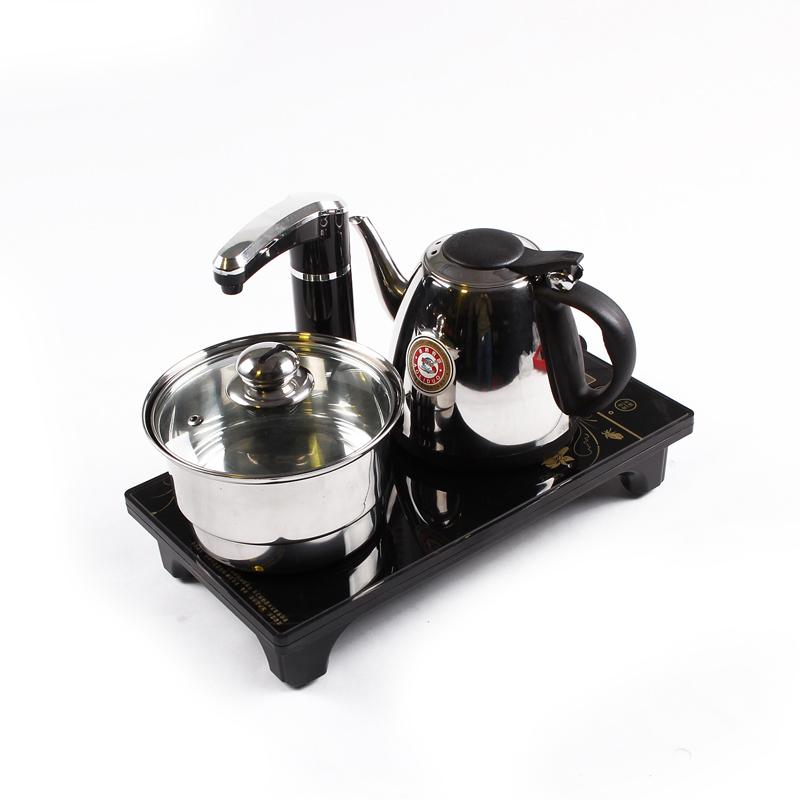 De té de porcelana eléctrica rápida bandeja de horno de estufa electromagnética Sado cuatro en una tetera de té un hervidor eléctrico