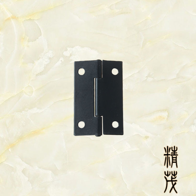 Small hinge, 1.5 inch hinge gift box, spray black hinge, iron sheet hinge packaging, hardware hinge, flat hinge