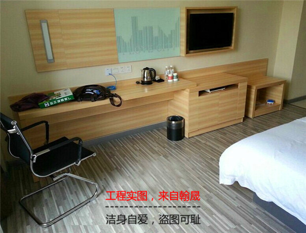 New 10 percent off city convenient hotel furniture, fast hotel bed frame, TV integrated table, a complete set of customized mail