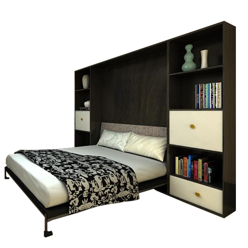 Invisible bed wall bed desk bed folding bed is over multifunctional bed turnover bed desk + hardware accessories