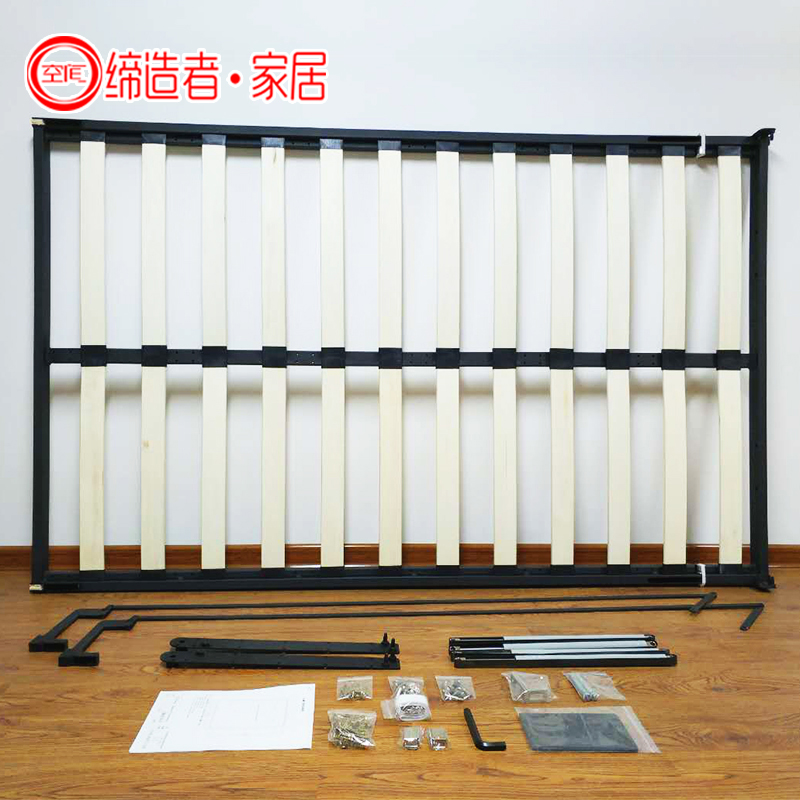 The invisible wall bed is double bed closet rollover multifunctional folding bed bed bed hidden hardware accessories