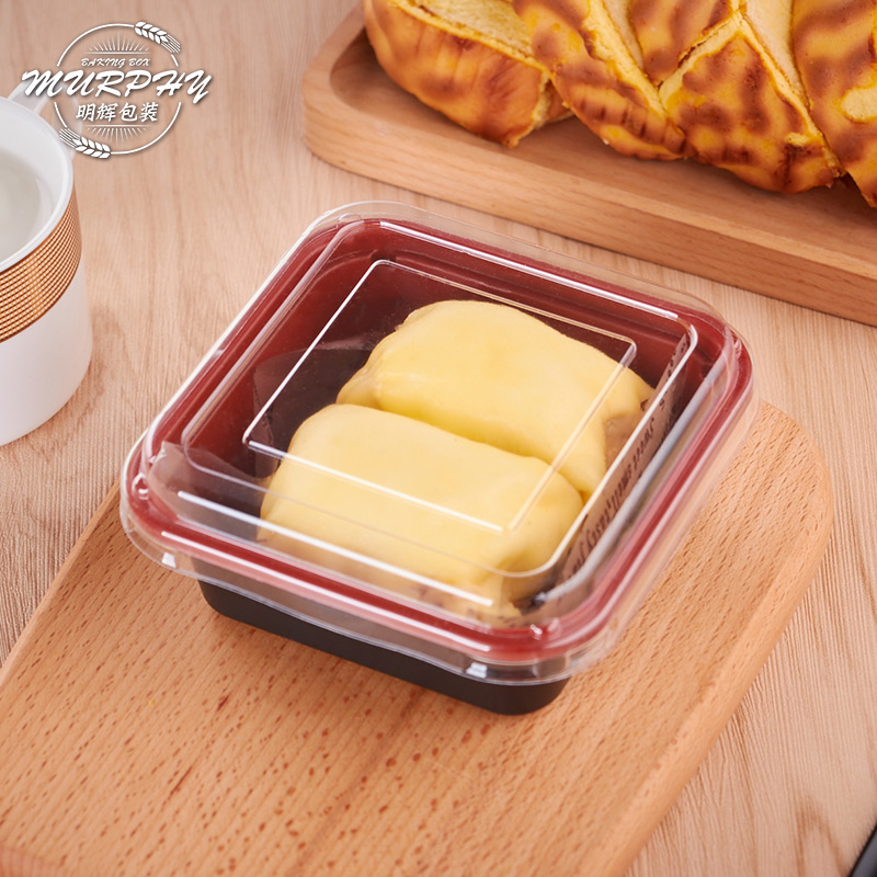 pankakor med paketet - en låda kakor fält dessert fält, west point tårtkartong baka förpackningen