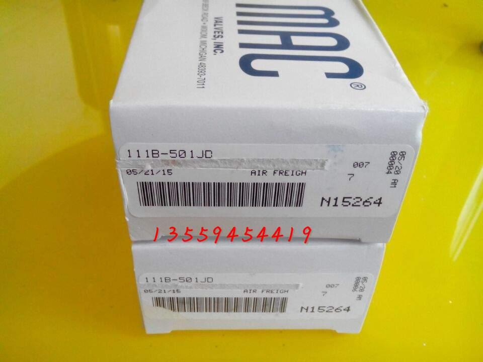 Είναι πρωτότυπο, αυθεντικό Μακ ηλεκτρομαγνητική βαλβίδα 100% στις Ηνωμένες Πολιτείες 111B-501JD μια ποινή δέκα πακέτα ταχυδρομείο spot διαπραγματευτική εντολή
