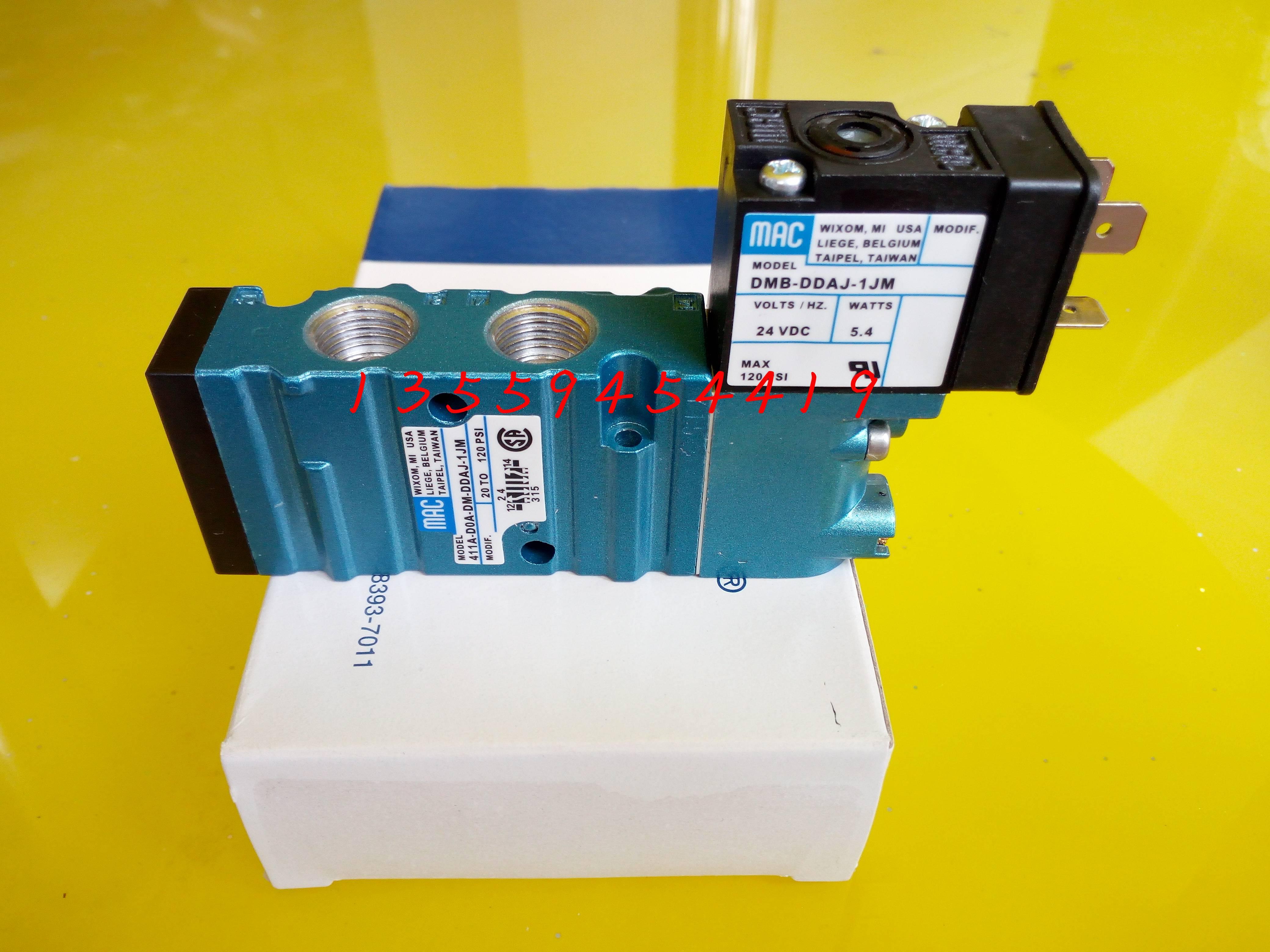 amerikanske mac elektromagnetisk ventil 411A-D0A-DM-DDAJ-1JM ægte oprindelige pakke post forhandlinger