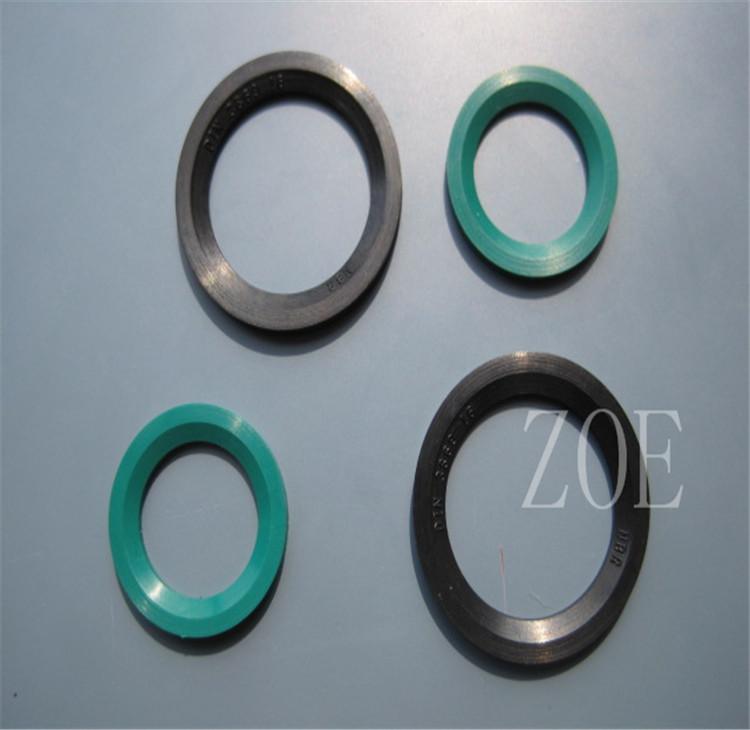 Anel de BORRACHA nitrílica Verde flúor importado Preto importado ed ed DIN3869 plug de vedação