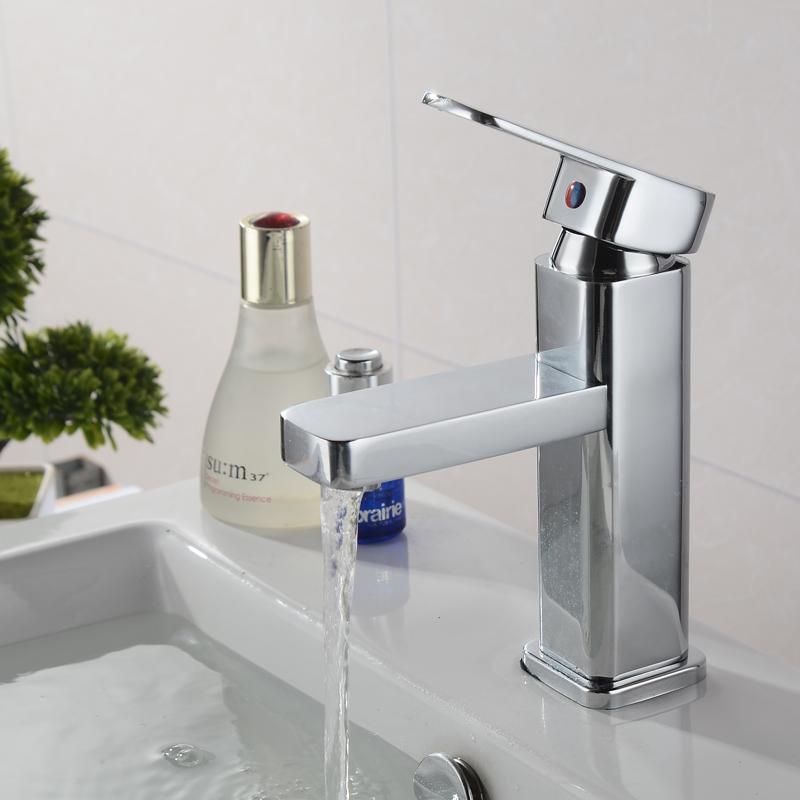 умывальник керамический горшок, мытье рук умывальник холодной и горячей воды кран бассейна стиральная бассейн одно отверстие кран все медные керамические клапан