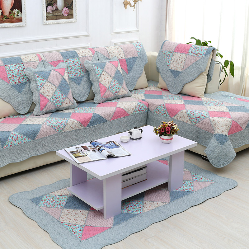 The new round of fabric quilting mats tatami table mats cotton pad antiskid cotton blanket bed bedroom living room