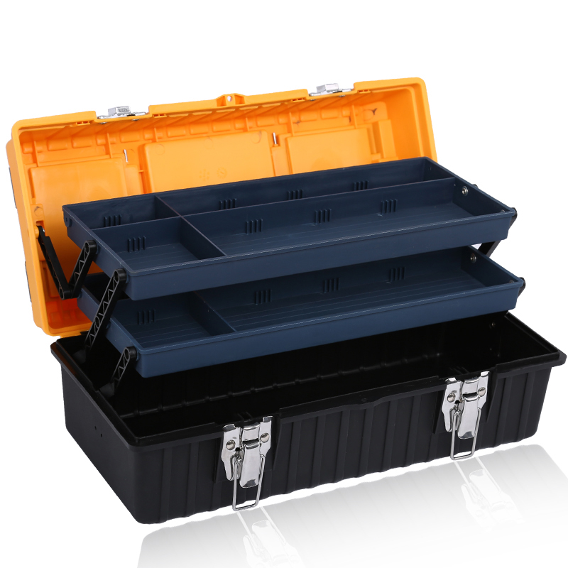 plastik hardware værktøjskasse indeholder ikke værktøj, husstand, beholder størrelse reparation værktøj, oplagring, rubrik multifunktionelle tomme beholder