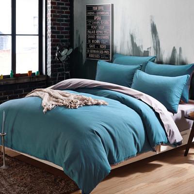 纯色被单床单床笠四件套ins风简约床上用品宿舍学生单人三件套