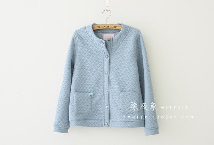 日系森系绗缝SM2风棉服外套