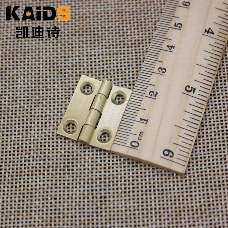 1 pulgadas de cobre cobre latón cobre total de bisagras bisagras pequeñas mini mini - bisagra de otras cajas de joyas, accesorios de hardware